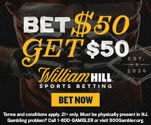 william hill nj promo code
